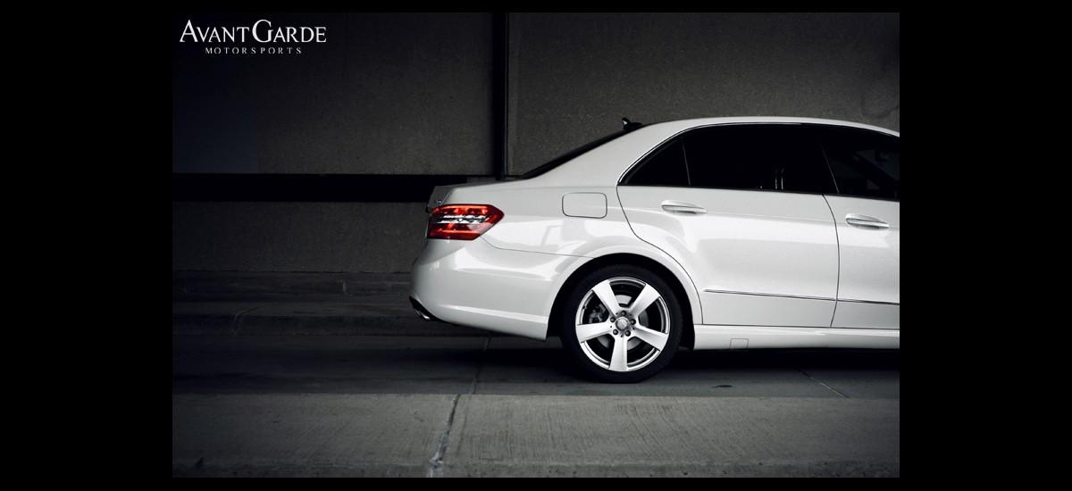 2012 mercedes benz e350 bluetec avant garde motorsports for Mercedes benz paint protection package