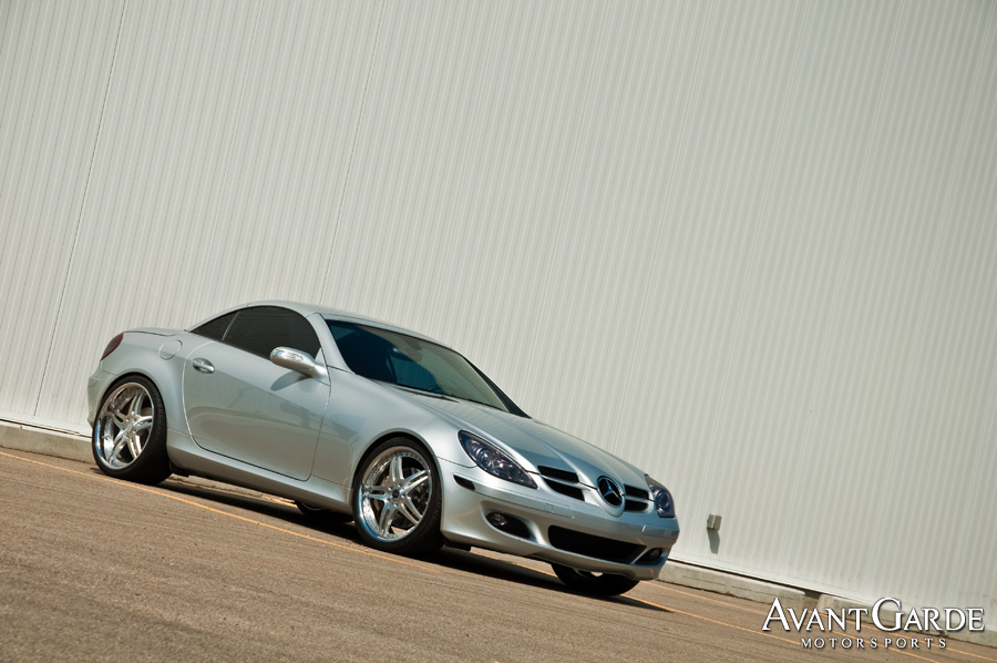 2005 mercedes benz slk350 avant garde motorsports. Black Bedroom Furniture Sets. Home Design Ideas