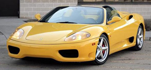 2002 Ferrari 360 Modena Spider