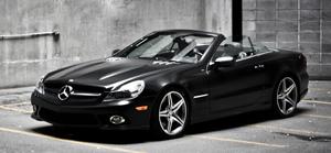 2011 Mercedes SL550 Night Edition