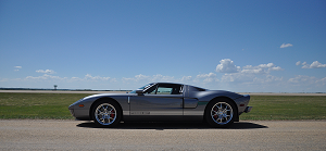 2006 Ford GT Tungsten Stripe Delete