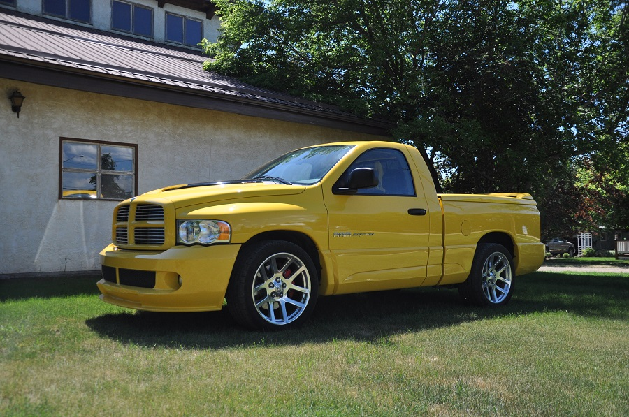 2005 dodge ram 1500 srt 10 viper engine rare 143 of 500 yellow fever edition avant garde. Black Bedroom Furniture Sets. Home Design Ideas