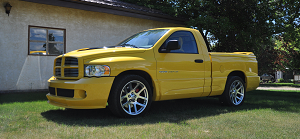 2005 Dodge Ram 1500 SRT-10 VIPER ENGINE *RARE 143 of 500 YELLOW FEVER EDITION*