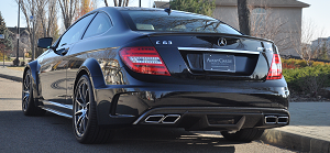2012 Mercedes Benz C63 Black Series